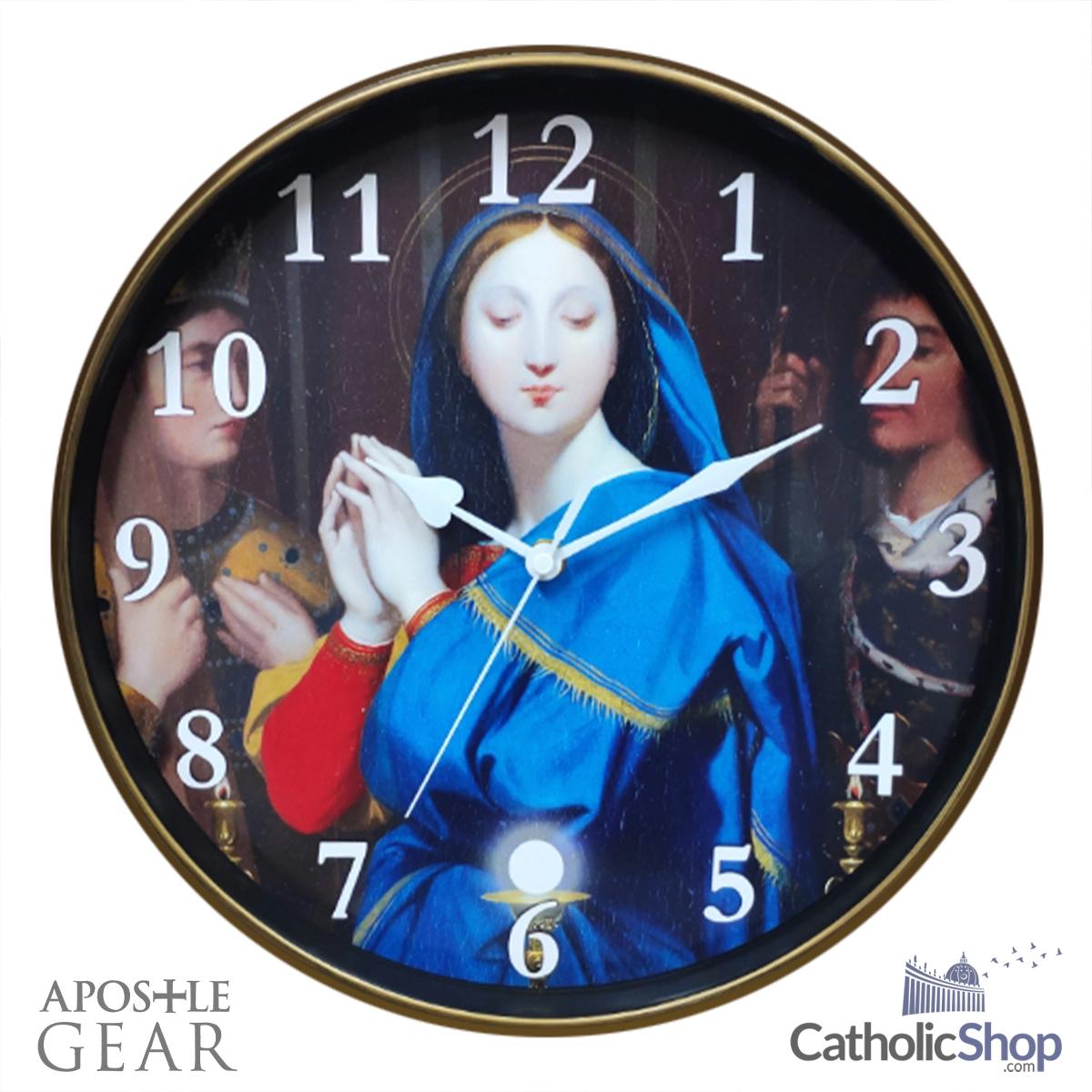 Virgin Mary clock