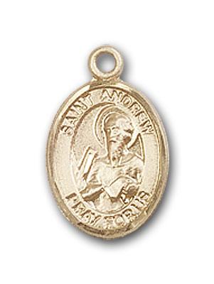 Bartholomew The Apostle Medal 14kt Gold St