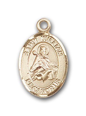 Drogo Medal 14kt Gold St Patron Saint of Travelers//Motorists