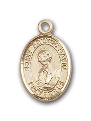 Saint Dominic Resin Pendant