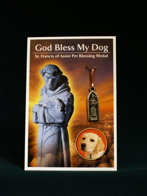 Religious Pet Medals