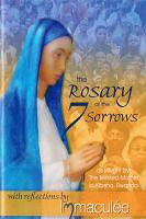 The Rosary of the 7 (seven) Sorrows booklet with Reflections by Immaculee Ilibagiza